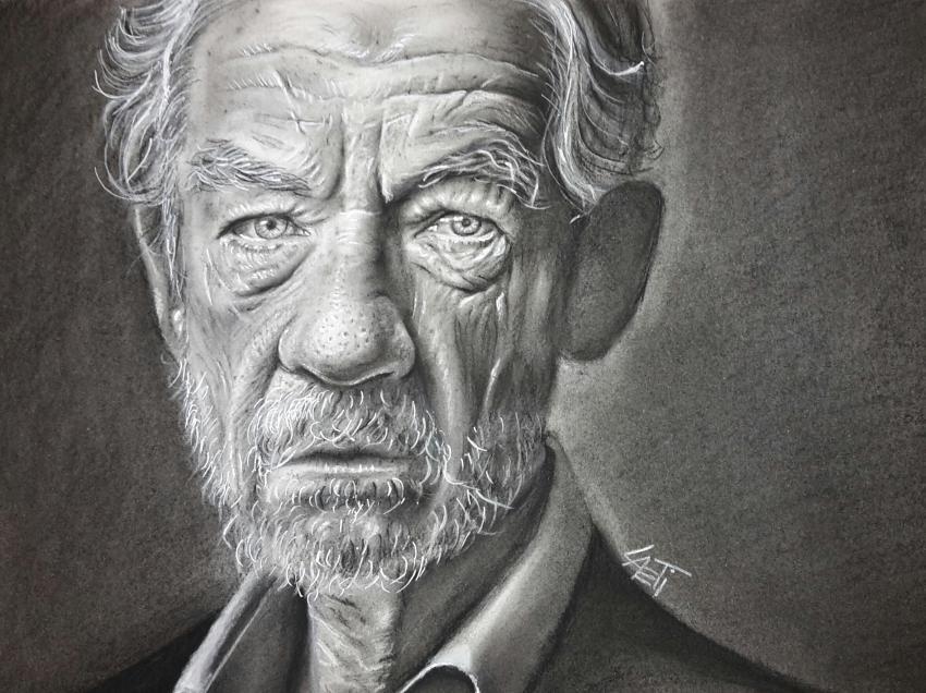 Ian McKellen by stellina